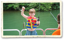 Fishing at Smith Mountain Lake