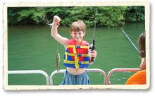 Fishing at Smith Mountain Lake